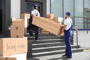 Movers doing the heavy lifting