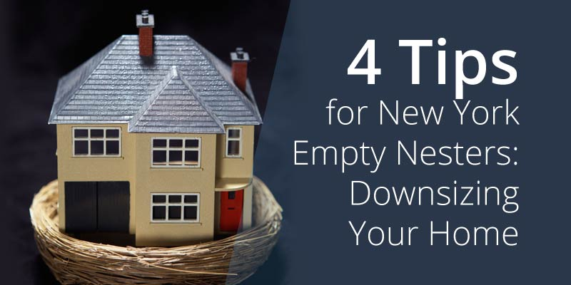 4 Tips for New York Empty Nesters: Downsizing Your Home