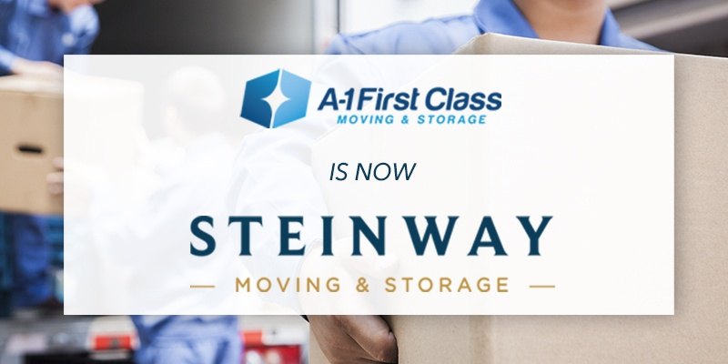 A-1 First Class Moving & Storage has Acquired Steinway Moving & Storage