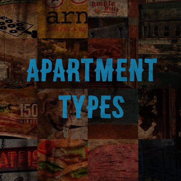 Apartment Types