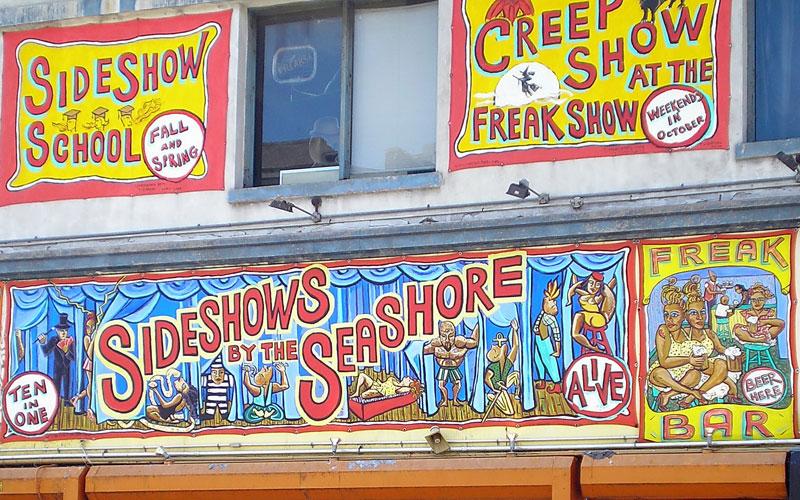 Sideshow Seashows