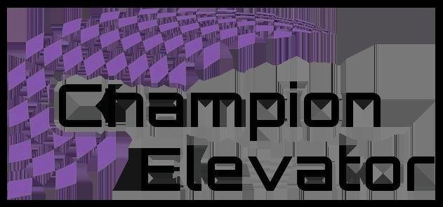 champion elevator logo
