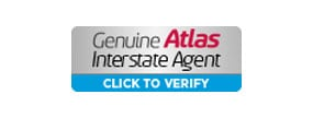 Genuine Atlas Interstate Agent badge